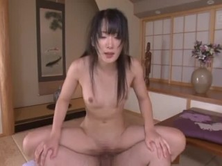 Aged Guy Creampies Youthful Chinese Dark-haired