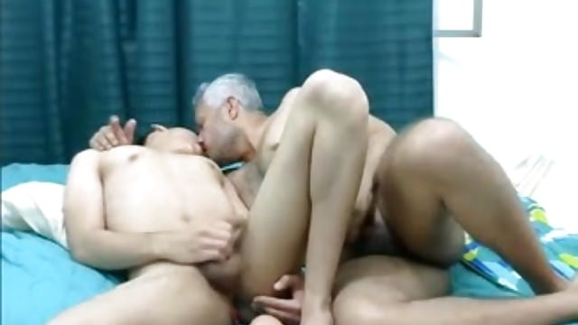 Older & Youthfull Faggot Latino Duo