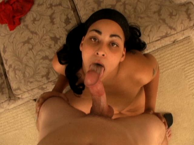 Whorey Youthful Ebony Gf Piss Weasle Belle Fellating A Rigid Milky Spear With Enthusiasm